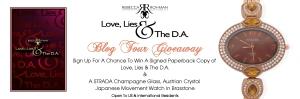 Love, Lies & The D.A. Blog Tour Giveaway