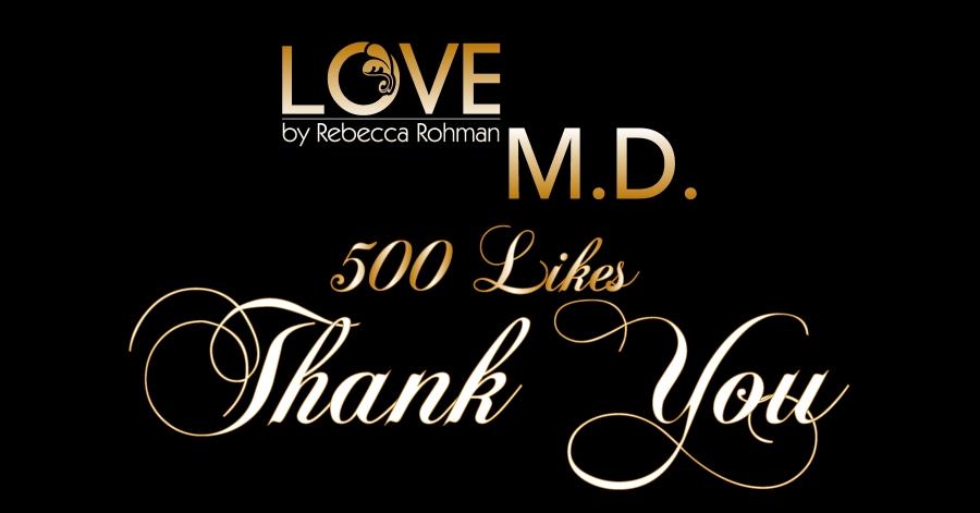 Love M.D. 500 Likes