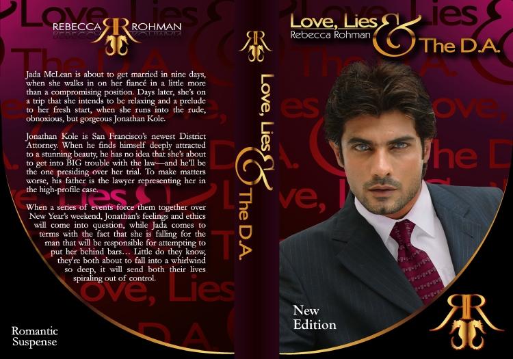 Love, Lies & The DA NEW COVER WRAP