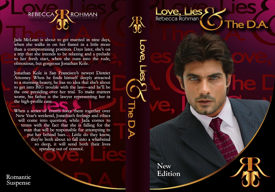 Love, Lies & The DA NEW COVER WRAP